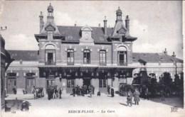 62 - Pas De Calais -  BERCK PLAGE  - La Gare - Berck