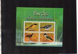 ST. VINCENT & THE GRENADINES. BIRDS. MNH (4R2211) - Birds