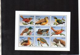 LIBERIA. BIRDS. MNH (4R2217) - Pájaros