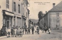 39  -  CPA   ST LUPICIN La Place (coté Nord) - Otros Municipios