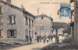 39  -  CPA   ST LUPICIN La Gare (coté Sud)  RARE - Frankrijk