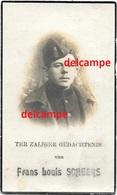 Oorlog Guerre Frans Scheers Doel Soldaat Gesneuveld Te Staden Aug 1918 Slijhagen Doodsprentje - Imágenes Religiosas