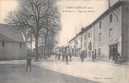 39  -  CPA   SAINT LUPICIN Le Centre Et Sous Les Chênes RARE - Otros Municipios
