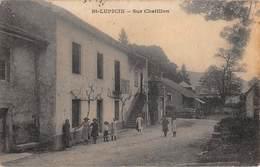39  -  CPA Photo   ST LUPICIN Sur Chatillon  RARE - Frankrijk