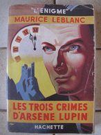 Les 3 Crimes D'Arsène Lupin - Maurice Leblanc - Livres, BD, Revues