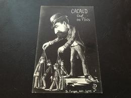 Caricature - CACAUD Chef Des Flics - Hommes Politiques & Militaires