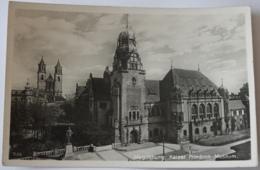 Magdeburg Kaiser Friedrich Museum Feldpost 1941 - Magdeburg