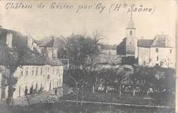 70  -  CPA Photo Chateau De GEZIER RARE - Otros Municipios