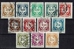 Böhmen & Mähren 1941 // Mi. 1/12 O Dienst - Böhmen Und Mähren