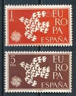 °°° SPAGNA - Y&T N°1044/45 - 1961 MNH °°° - 1931-Oggi: 2. Rep. - ... Juan Carlos I