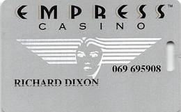 Empress Casino - Joliet IL & Hammond IN - Slot Card Without Signature Strip - Casino Cards