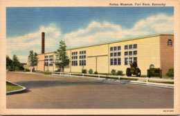 Kentucky Fort Knox The Patton Museum Curteich - Museum