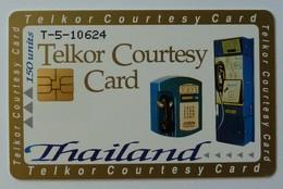 THAILAND - Rare Test / Demo - Chip - Telkor Courtesy Card - Mint - Tailandia
