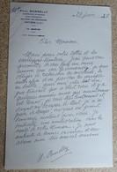 Ancien Courrier Entête Paul Borelly - Compositeur De Musique - Courrier Manuscrit Signé 1985 (3) - Other Products