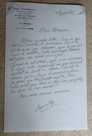 Ancien Courrier Entête Paul Borelly - Compositeur De Musique - Courrier Manuscrit Signé 1985 (4) - Other Products