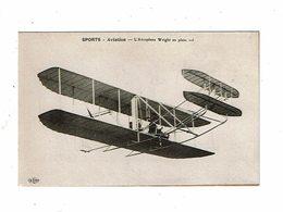 Cpa Sports Aviation Aéroplane WRIGHT En Plein Vol Biplan Avion ELD - ....-1914: Précurseurs