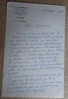 Ancien Courrier Entête Paul Borelly - Compositeur De Musique - Courrier Manuscrit Signé 1985 (5) - Objets Dérivés