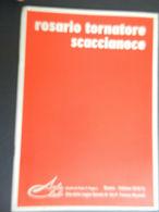 8g) ARTE INVITO AL VERNISSAGE ARTISTA ROSARIO TORNATORE SCACCIANOCE 1974 FORMATO 17 X 24,5 Cm CIRCA 8 PAGINE CON FOTO - - Riviste: Abbonamenti