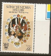British Virgin Islands  1981  SG  464 Royal Wedding Watermark Inverted Unmounted Mint - Britse Maagdeneilanden