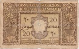 20 SOMALI DE LA SOMALIE ITALIENNE 1950 - Somalia