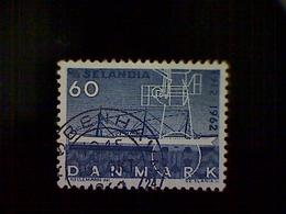 Denmark (Danmark), Scott #403, Used (o), 1962, M.S. Sealandia, 60ø, Dark Blue - Denmark