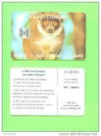 COMORO ISLANDS - Chip Phonecard/Lemur - Comoren