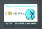 NIGERIA  - Chip Phonecard/400 Units Reverse Satellite Dish - Nigeria