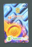 KENYA  -  Chip Phonecard As Scan - Kenia