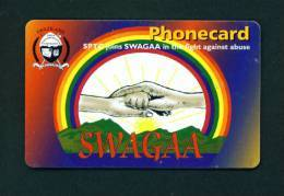 SWAZILAND - Chip Phonecard As Scan - Swaziland