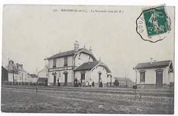 95 - MARINES  -  La Nouvelle Gare        BA - Marines