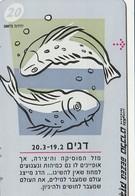 TARJETA TELEFONICA DE ISRAEL . ZODIAC - Pisces, 907B. BZ-234  (148) - Zodiaco