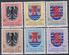 Luxembourg     .   Yvert    .    520/525     .    **   .      Neuf SANS Charniere  .  /   .   MNH - Nuevos