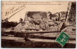 62 ETAPLES-sur-MER - Ruines Du Chateau D'Etaples - Etaples