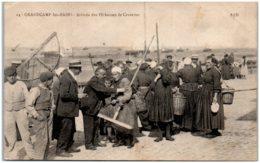 14 GRANDCAMP-les-BAINS - Arrivée Des Pêcheurs De Crevettes - Autres Communes