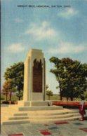 Ohio Dayton Wright Brothers Memorial Curteich - Dayton
