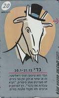 TARJETA TELEFONICA DE ISRAEL . ZODIAC - Capricorn, 946K. BZ-232  (146) - Zodiaco