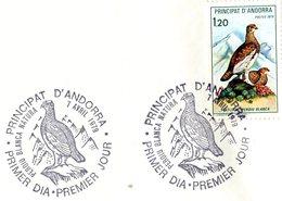 ANDORRA 1979 FDC With GROUSE.BARGAIN.!! - Gallinacées & Faisans