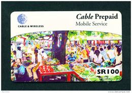 SEYCHELLES - Remote Phonecard As Scan - Seychellen