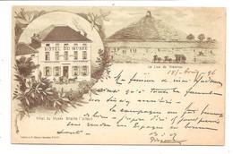 BRAINE L ALLEUD   Hotel Du Musee  Litographie  Superbe 1896  !!!!!! - Eigenbrakel