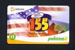 EL SALVADOR - Chip Phonecard As Scan - Salvador