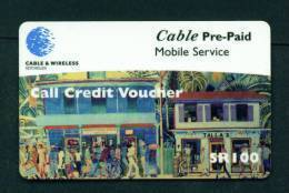 SEYCHELLES - Remote Phonecard As Scan - Seychelles