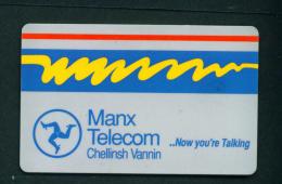 ISLE OF MAN - Chip Phonecard As Scan - [ 6] Isle Of Man