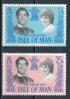 °°° ISLE OF MAN - Y&T N°189/90 - 1981 MNH °°° - Isola Di Man