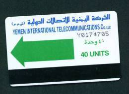 YEMEN - Magnetic Autelca Phonecard As Scan - Jemen