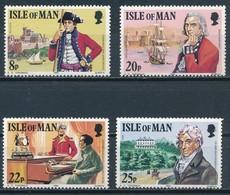 °°° ISLE OF MAN - Y&T N°185/88 - 1981 MNH °°° - Isola Di Man