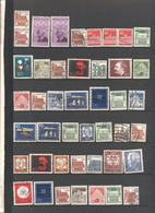 GERMANIA - GERMANY - Deutschland - ALLEMAGNE - BUNDESPOST - Lotto - Accumulo - Vrac - 88 Francobolli - Usati - Francobolli