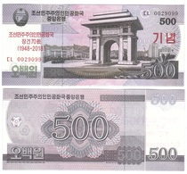 Korea North - 500 Won 2018 UNC Comm. Lemberg-Zp - Korea, North