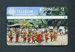 PAPOUASIE NOUVELLE GUINEE/PAPUA NEW GUINEA  -  Optical Phonecard As Scan - Papua New Guinea
