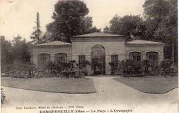ERMENONVILLE  -  Le Parc - L'Orangerie - Ermenonville