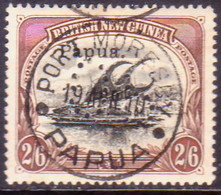 PAPUA (BRITISH NEW GUINEA) 1908 SG #O1 2sh6d Used Official CV £38 - Papua New Guinea